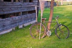 Fahrrad alt Stockfoto