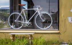 Fahrrad auf einem Parken Lizenzfreie Stockbilder
