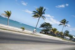 Fahrrad auf Geschwindigkeit Stockfoto