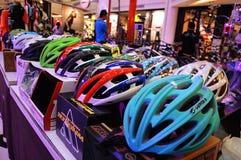 Fahrrad-Ausstellung 2014 Stockfotos