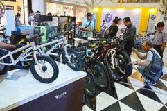 Fahrrad-Ausstellung 2014 Lizenzfreie Stockfotografie