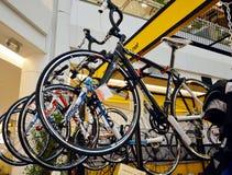 Fahrrad-Ausstellung 2014 Stockbild