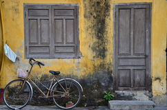 Fahrrad bei Hoi An lizenzfreie stockfotos