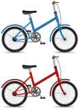 Fahrrad der Kind- Fahrrad, Jungen- und Mädchen Lizenzfreies Stockbild