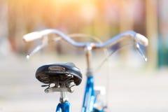 Fahrrad in der Stadt Lizenzfreies Stockfoto