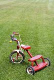 Fahrrad des Kindes Stockbild