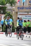 Fahrrad für Mutter Stockbild