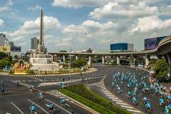 Fahrrad für Mutter Thailand Stockfoto