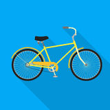 Fahrrad, Fahrradikone Lizenzfreie Stockfotografie