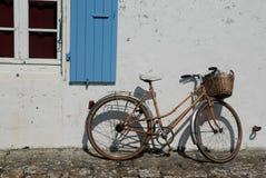 Fahrrad in Frankreich Stockfotografie
