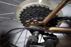 Fahrrad-Gänge Stockfotografie