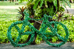 Fahrrad-Garten Stockfoto