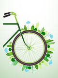 Fahrrad-Grün Lizenzfreies Stockfoto