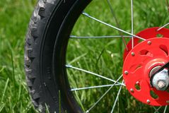 Fahrrad-Gummireifen Lizenzfreie Stockbilder
