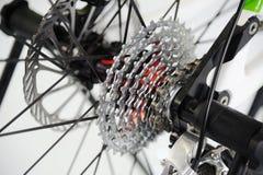 Fahrrad-hinteres Ansteuersystem lizenzfreies stockfoto