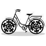 Fahrrad Hochzeitsfahrrad Stockbild