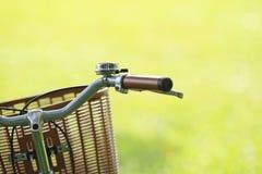 Fahrrad im Park Stockfotos
