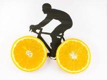 Fahrrad mit Rädern stockbilder