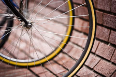 Fahrrad-Parken lizenzfreies stockbild