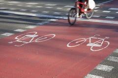 Fahrrad-Pfad stockfotos