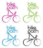 Fahrrad-Pfad Lizenzfreie Stockfotografie
