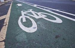 Fahrrad-Pflasterung Stockfotografie