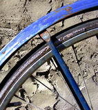 Fahrrad-Rad-Detail Lizenzfreies Stockbild