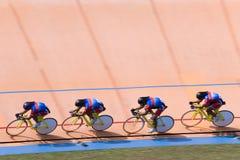 Fahrrad-Rennen Stockfotografie
