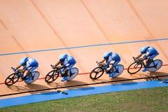 Fahrrad-Rennen Stockfotos