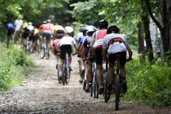 Fahrrad-Rennläufer stockbilder