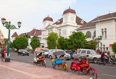 Fahrrad rikshaw lizenzfreies stockfoto
