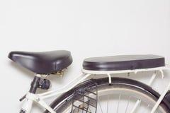 Fahrrad-Sattel Stockfoto