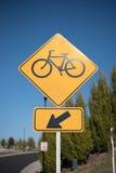 Fahrrad-Symbol-Zeichen Lizenzfreie Stockfotos