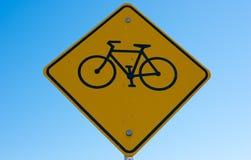 Fahrrad-Symbol-Zeichen Lizenzfreies Stockfoto