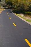 Fahrrad und Gehweg Lizenzfreies Stockbild