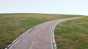 Fahrrad-Weg-Park lizenzfreie stockbilder
