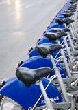 Fahrrad-Zeile Lizenzfreie Stockbilder