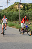 Fahrradfahrt Lizenzfreie Stockbilder