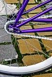 Fahrradfelge. Detail 20 Stockbild