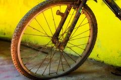 Fahrradfelge flach Lizenzfreie Stockfotos
