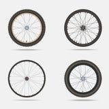 Fahrradfelgen und Reifen Lizenzfreie Stockfotografie