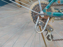 Fahrradgang rostig Lizenzfreies Stockbild