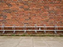 Fahrradhalter Stockfoto