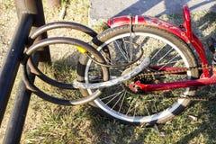 Fahrradhalter Lizenzfreies Stockbild