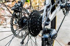 Fahrradkette lizenzfreies stockbild