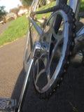 Fahrradkurbeln Stockbilder