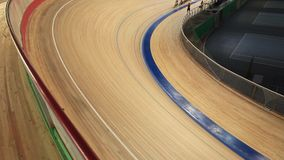 Fahrradlaufwettbewerb stock video footage