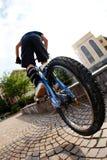 Fahrradmitfahrer Stockfotos