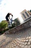 Fahrradmitfahrer Lizenzfreies Stockfoto