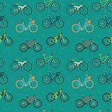 Fahrradmuster Stockbild